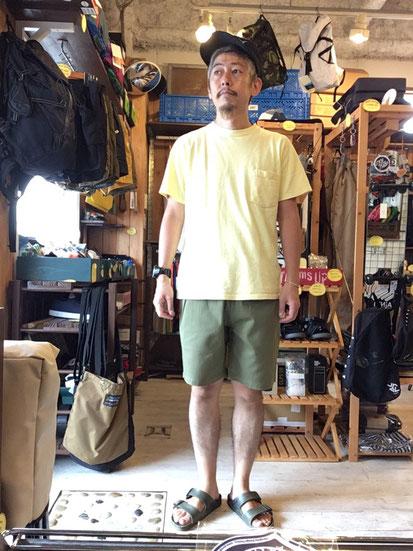 ※172㎝62㎏体型でサイズ「M」着用(Khaki)