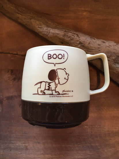 """Late / Espresso PEANUTS ' BOO !"""" CHARLIE?"""