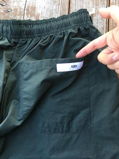 後面ポケット&ピスネームロゴ(両サイドあり)
