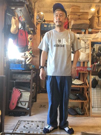 ※172㎝64㎏体型でサイズ「M」着用(Gray)