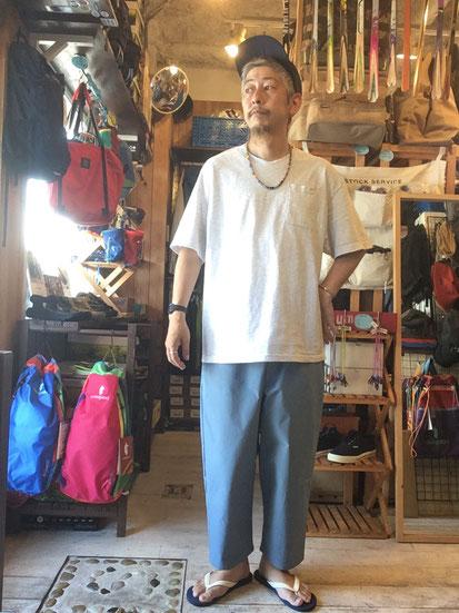 ※172㎝63㎏体型で着用(Khaki)