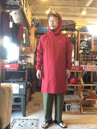 ※172㎝64㎏体型でサイズ「S」着用(Red)