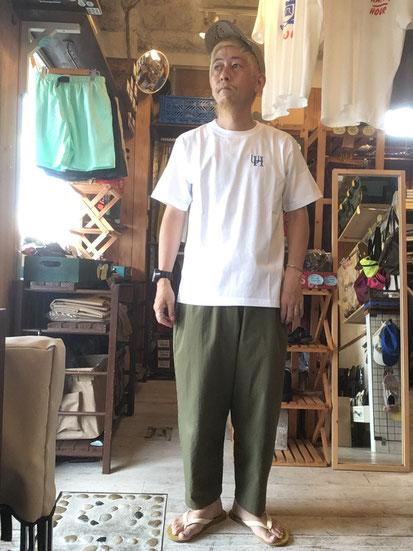 ※172㎝64㎏体型でサイズ「M」着用(White)