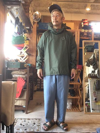 ※172㎝64㎏体型でサイズ「M」着用(Lichen)