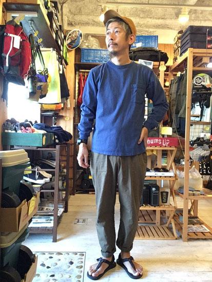 ※172㎝62㎏体型でサイズ「M」着用(INDIGO)