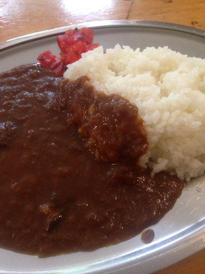 お昼は「槍沢ロッジ」でカレー頂きました!美味い!!