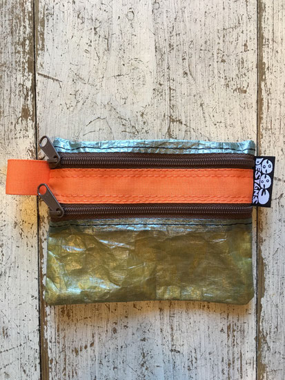 Olive Cuben×Orange Zip