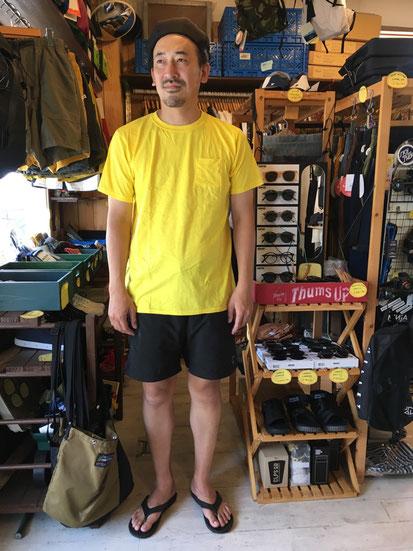 ※181㎝83㎏体型でサイズ「XL」着用(Yellow)