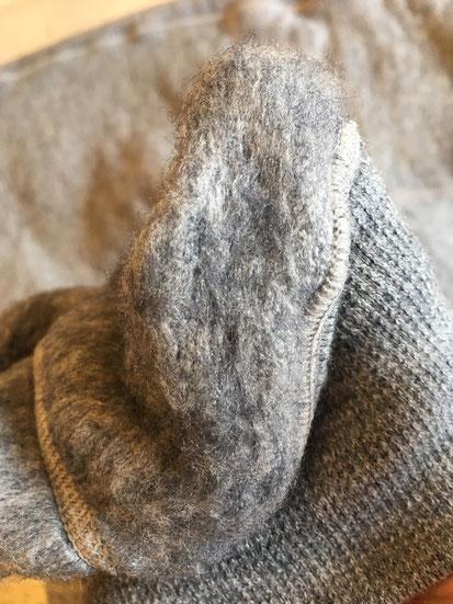 特許を取っている特殊パイル起毛技術が本当に凄いんです!!