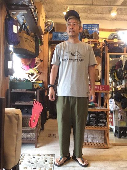 ※172㎝64㎏体型でサイズ「L」着用(Gray)