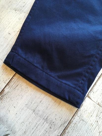 裾周り部分(八分丈)