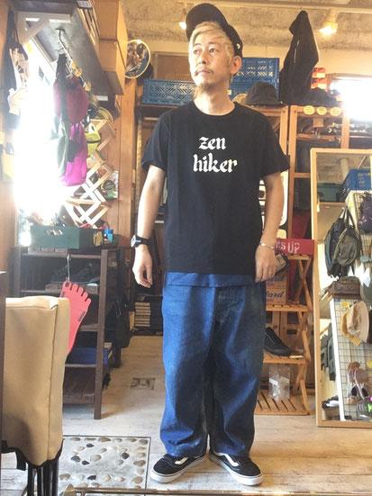 ※172㎝65㎏体型でサイズ「M」着用(Black)