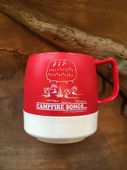 Red / Off White PEANUTS ' CAMPFIRE SONGS ""