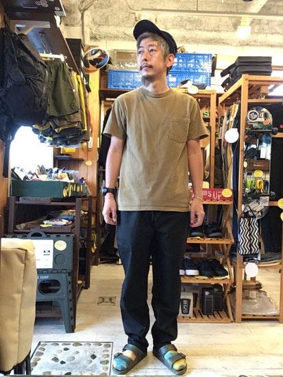 ※172㎝63㎏体型でサイズ「M」着用(Ripstop Black)