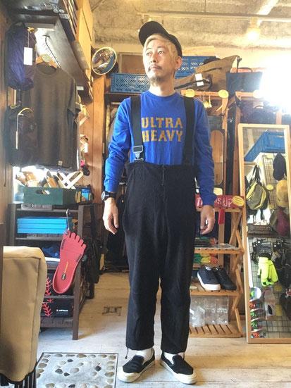 ※172㎝62㎏体型でサイズ「S-SR」着