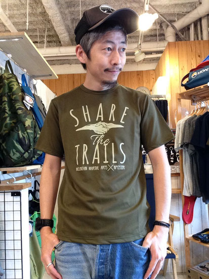 MMA SHARE the TRAILS Tee ¥6,048(税込)