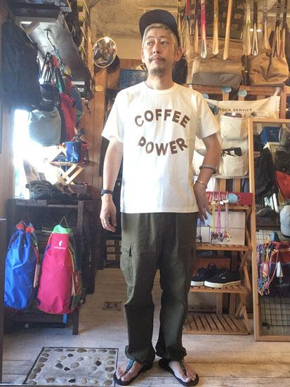 ※172㎝64㎏体型でサイズ「M」着用(Coffee Dye)