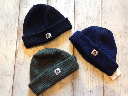 WARMWOOL FORESTER CAP 各¥3,780(税込)