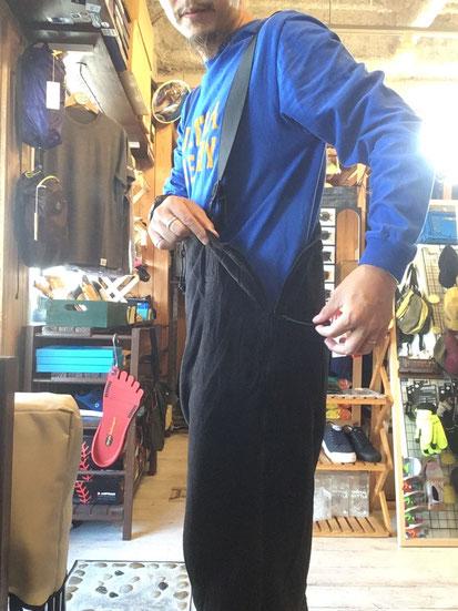 ※172㎝62㎏体型でサイズ「S-SR」着用