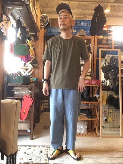 ※172㎝63㎏体型でサイズ「M」着用(Khaki)
