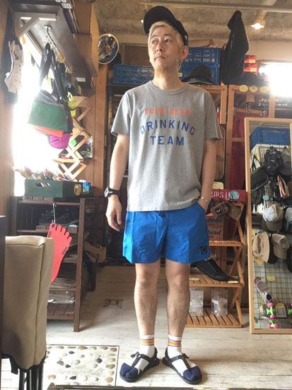 ※172㎝65㎏体型でサイズ「M」着用(Blue)