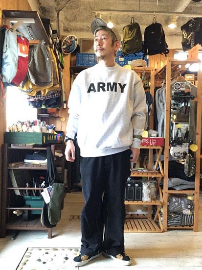 ※172㎝62㎏体型でサイズ「M」着用