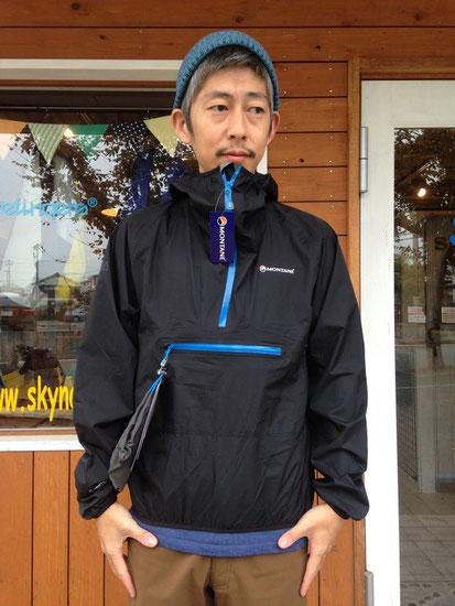 MONTANE(モンテイン)MINIMUS SMOCK ¥25.920(税込)