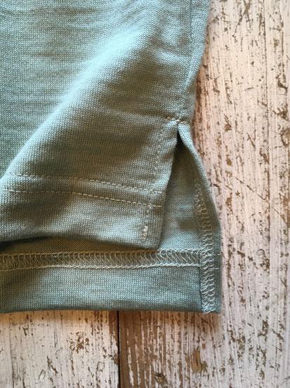 裾部分(後ろ身が長目の作りです)
