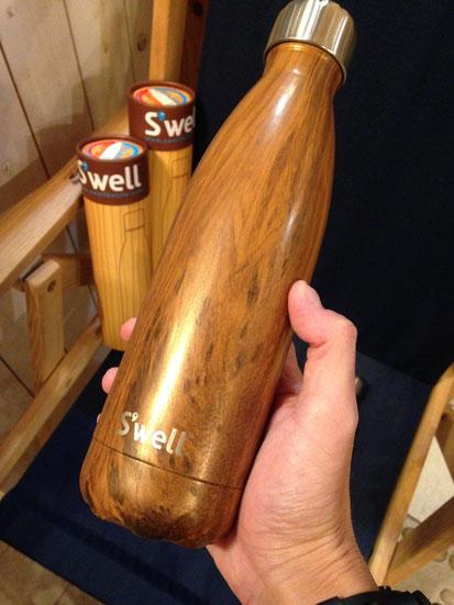 S'well(スウェル) Wood Collection 500ml(Teakwood) ¥5,400(税込)