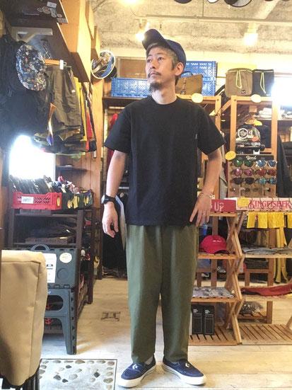 ※172㎝63㎏体型でサイズ「L」着用(Black)