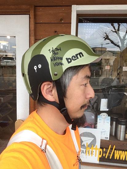 ※頭周り約57㎝で何も被らない状況で「XL(JPN M)」がジャストサイズです。