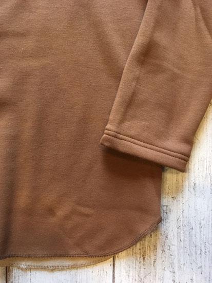 袖&裾周り(BEIGE)