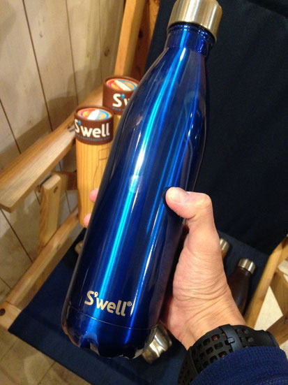 S'well(スウェル) Shimmer Collection 750ml(Ocean Blue) ¥6,480(税込)
