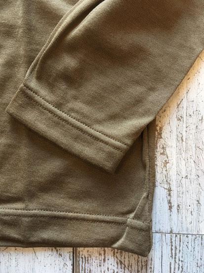 袖&裾周り部分