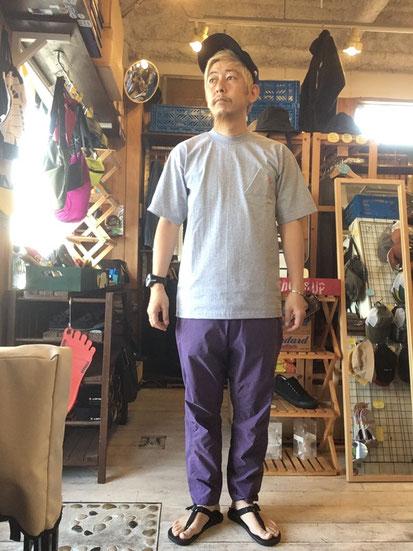 ※172㎝65㎏体型でサイズ「M」着用(Purple Haze)