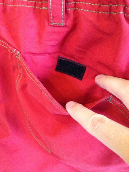 背面ポケット(両方あり)
