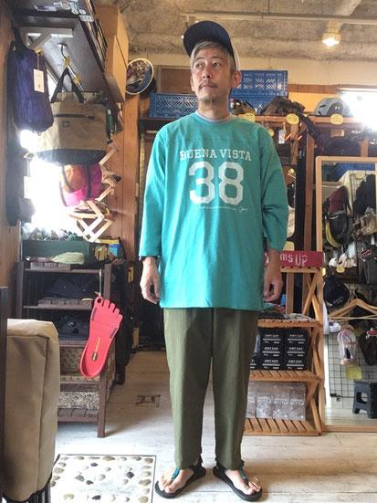 ※172㎝64㎏体型で着用(Turquoise)