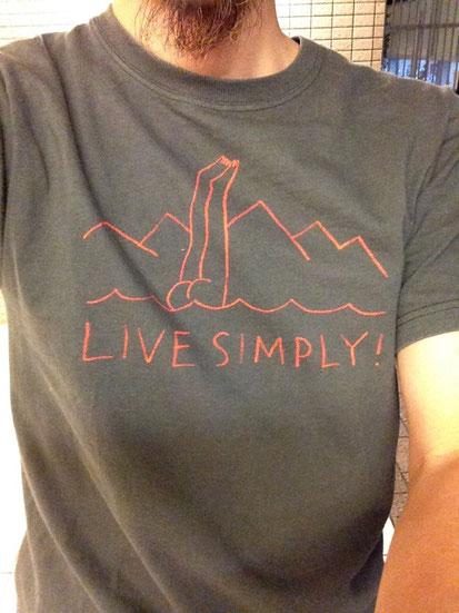 パタゴニアのコットンTシャツ‼