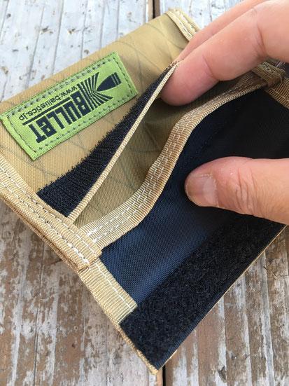 メインポケット(カード&お札入れ)