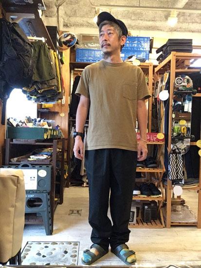 ※172㎝63㎏体型でサイズ「L」着用(Ripstop Black)