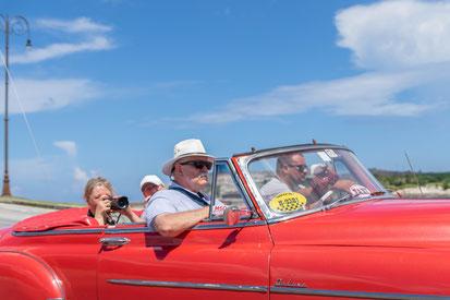 Deelnemer fotoreis Cuba in Old Timer