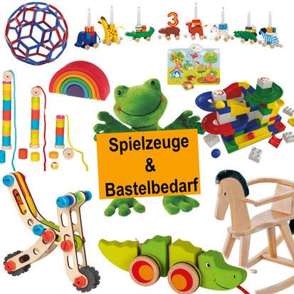 Spielzeuge und Bastelbedarf bei Holzspielzeug Beck in Hülben
