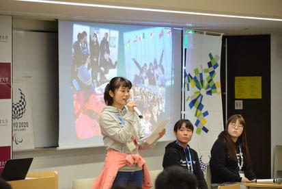 平昌オリンピック視察報告・留学生を交えたディスカッション