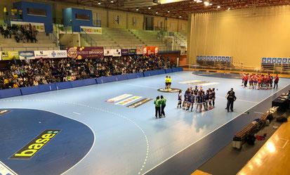 El Palau lleno en un partido del equipo femenino / Foto: Jordi del Puente