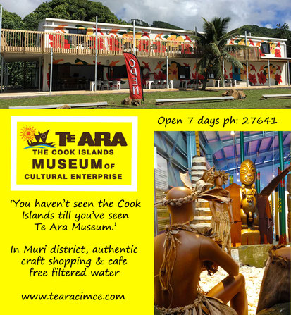 Te ara, Cook Islands museum of cultural enterprise, history, culture,