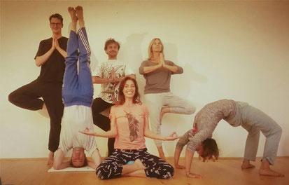 langjährige Yoga-Schüler aus Augsburg