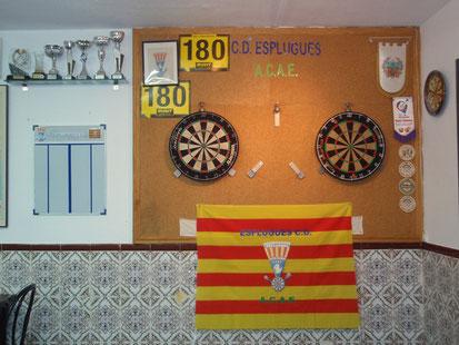 Sala de juego. Asociación Cultural Andaluza de Esplugues.LL.