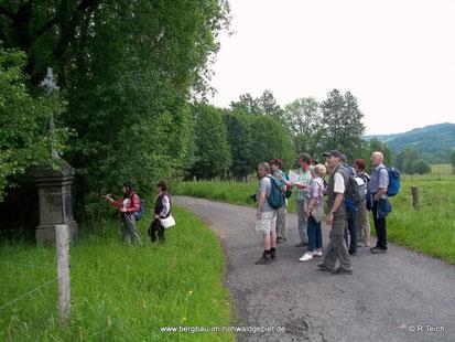 Wegekreuz am Weg nach Nová Viska / Neudörfel