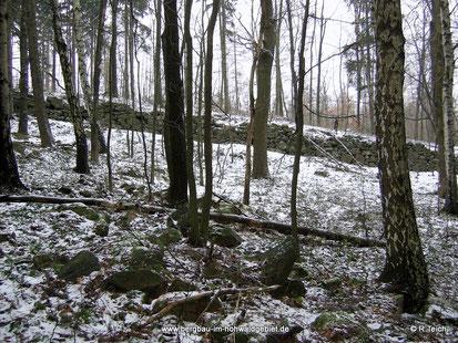 Die Scheuchenmauer auf dem Döringsberg