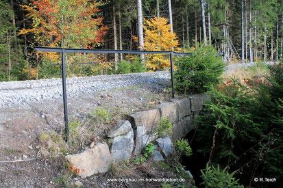 Die Wesenitzbrücke des Sträßels